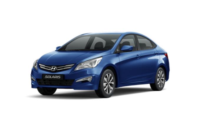 Авто Hyundai Solaris АКПП