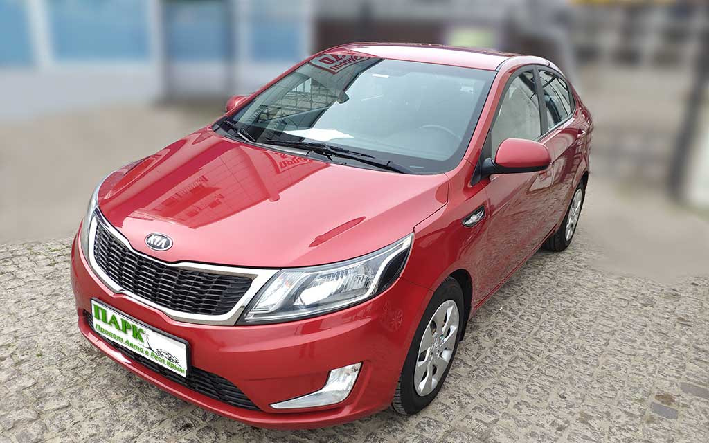 Прокат авто KIA Rio 1,6 Luxe Крым