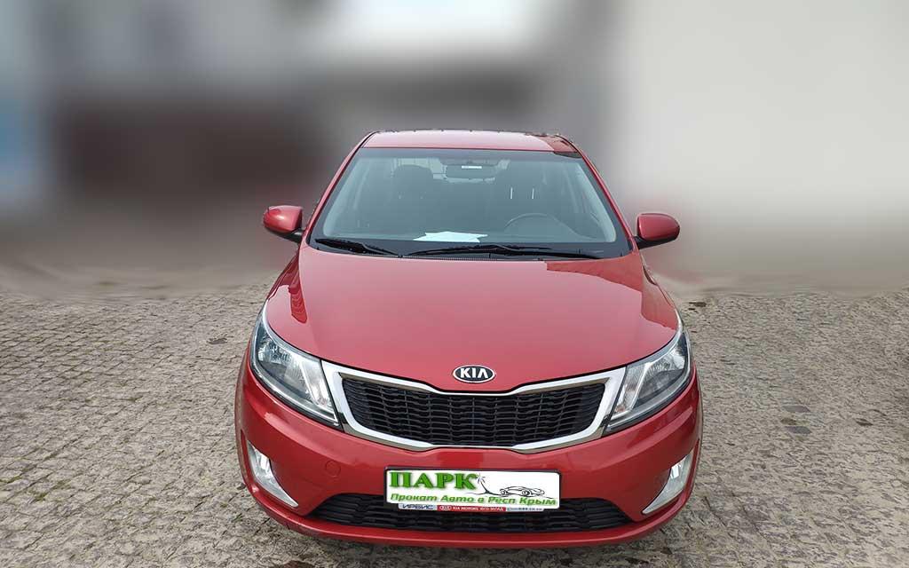 Аренда авто KIA Rio 1,6 Luxe в Симферополе