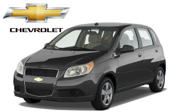 Chevrolet Aveo аренда в Крыму