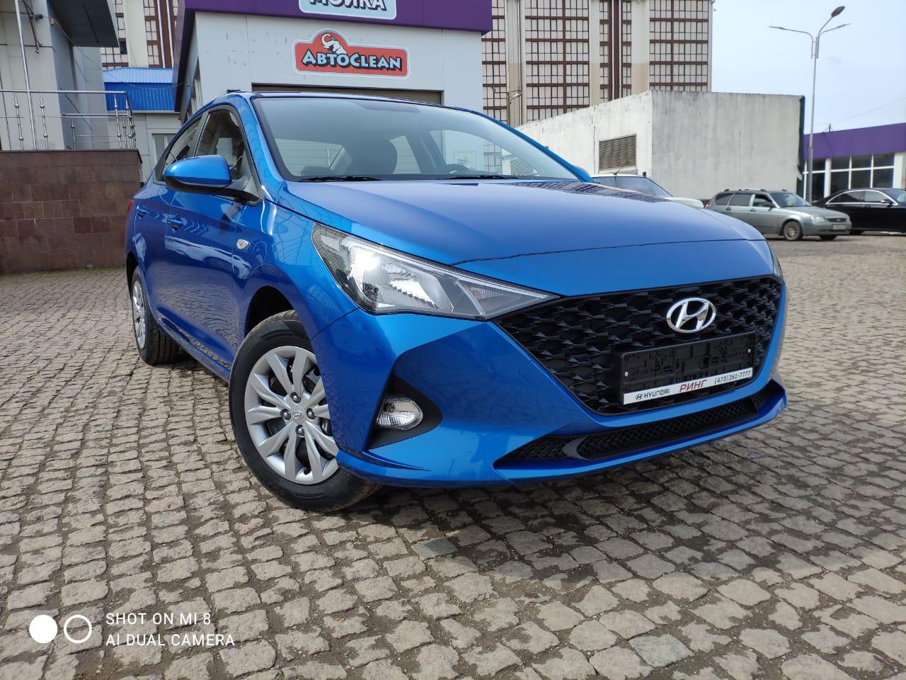 Аренда авто Hyundai Solaris NEW 2021
